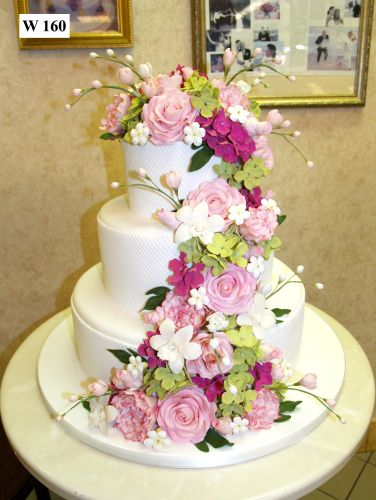 Carlo's Bakery - Floral Wedding Cake Designs