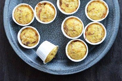 French Onion Mini Muffins