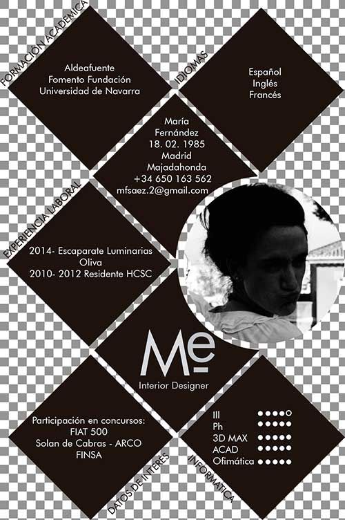 47 best Creative Resumes / Currículums Creativos images on Pinterest ...