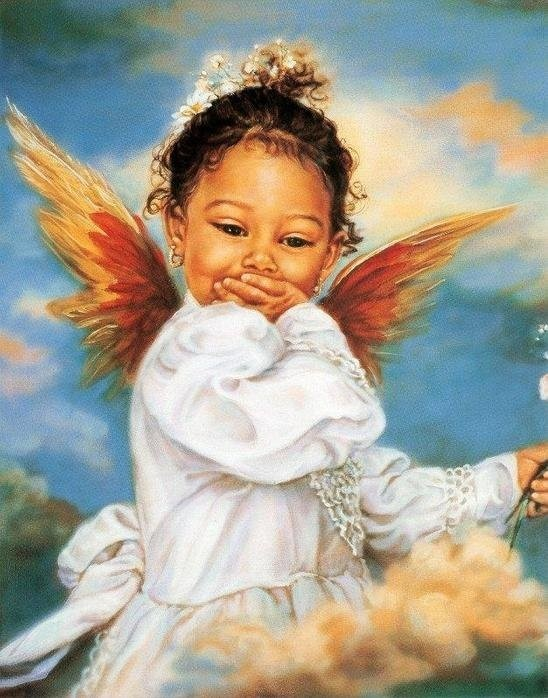 blowing kisses to all my sister angel friends! Love you & so does our Father...