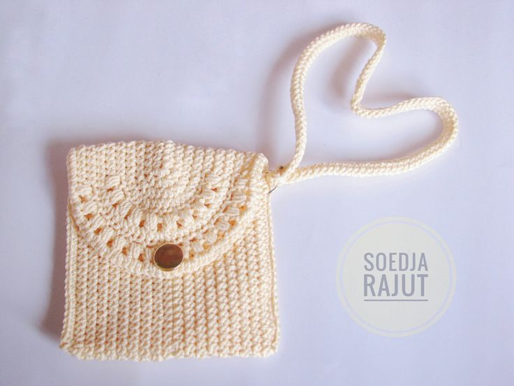 Crochet coin pouch item color. Made by soedja eajut