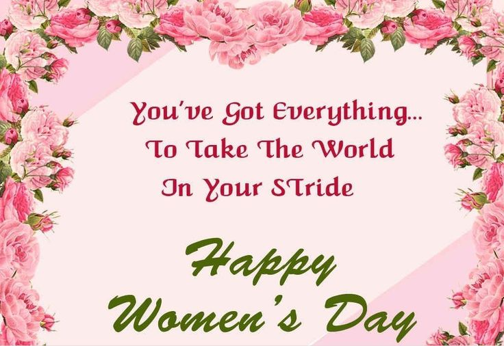 Free Happy Women's Day Pictures