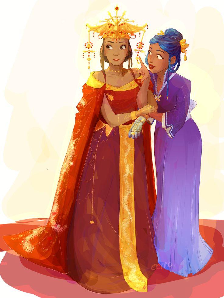 Empress Selene and her special guest, Iko