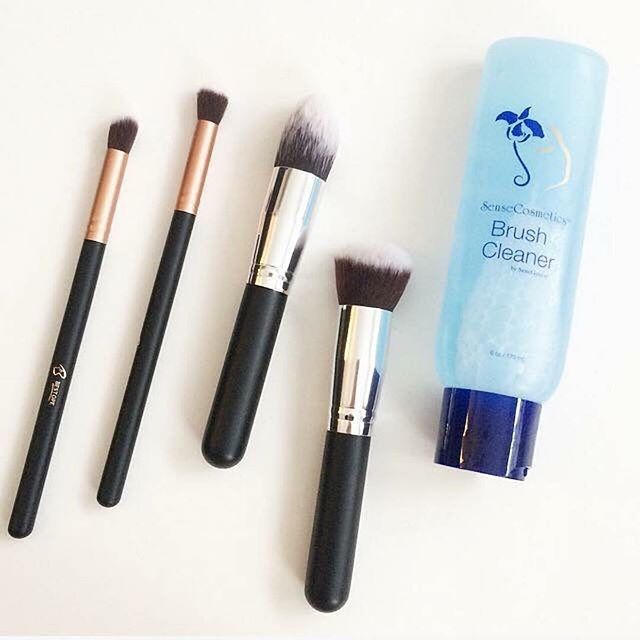 How To Clean Your Makeup Brushes At Home Relatable Motherhood Jannine Mackinnon How To Wash Makeup Brushes How To Clean Makeup Brushes Diy Makeup Brush Cleaner