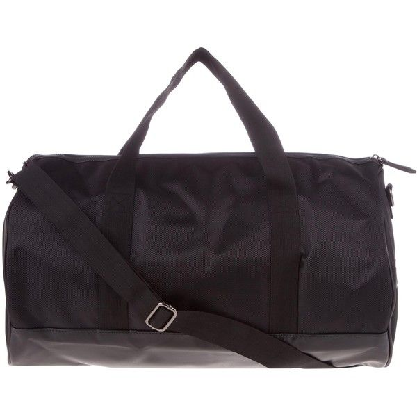 River Island Black Mesh Holdall 57 Liked On Polyvore Featuring Bags Luggage
