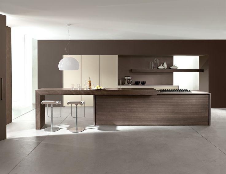 Nuovi concetti, nuovi temi sono d'attualità nel mondo dell'interior design: risolvere con maestria i problemi legati al contenimento delle aree cucina e living, sempre più spesso indissolubili.