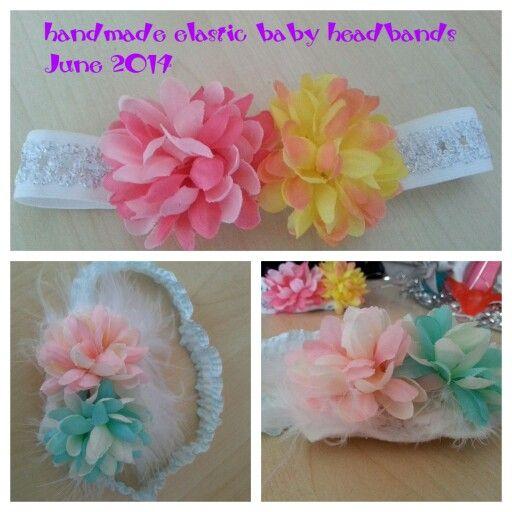 Handmade elastic baby headband
