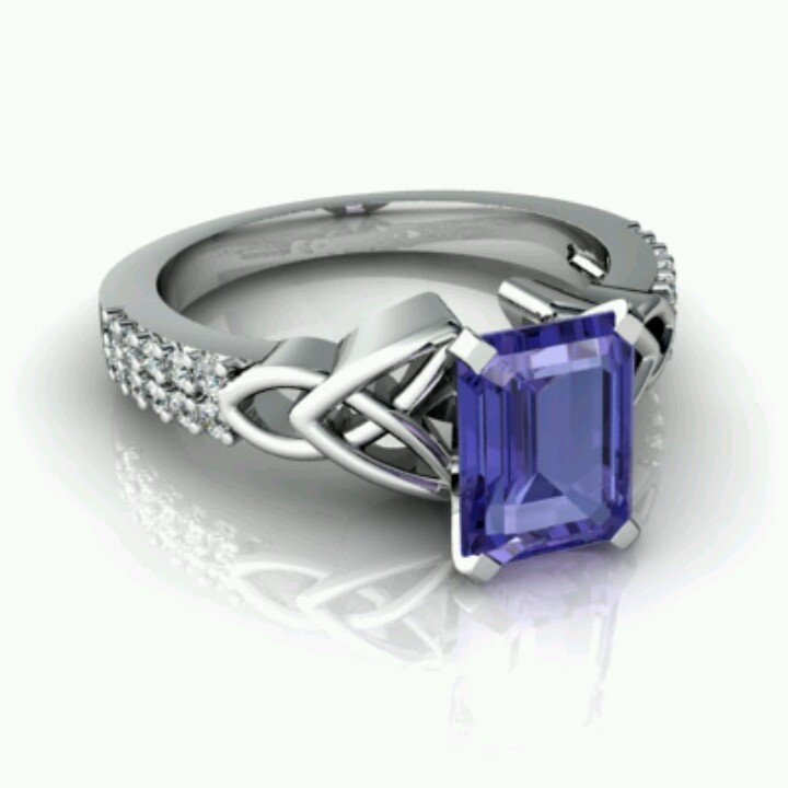 Champagne Tanzanite Tanzanite: Celtic Design Tanzanite Ring Celtic, Tanzanite & Just Make
