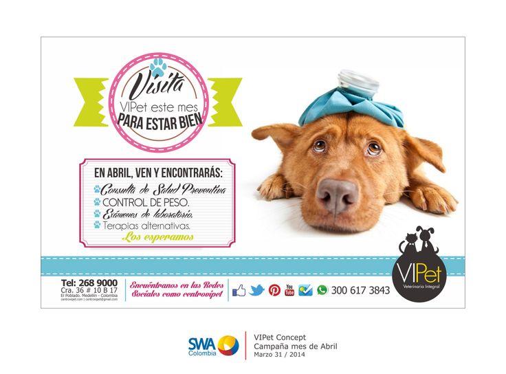 Durante el mes de Abril tendremos la campaña de salud preventiva en VIPet. ver más en https://www.facebook.com/photo.php?fbid=10152245264821597&set=a.10151777966511597.1073741825.6249861596&type=1&theater