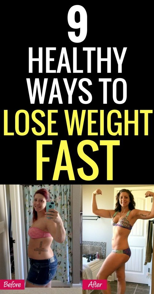 fastest way to lose weight fast