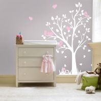 Gorgeous wall art for a baby girls nursery
