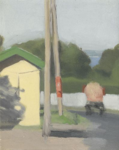 The Bus Stop 1930 Clarice Beckett