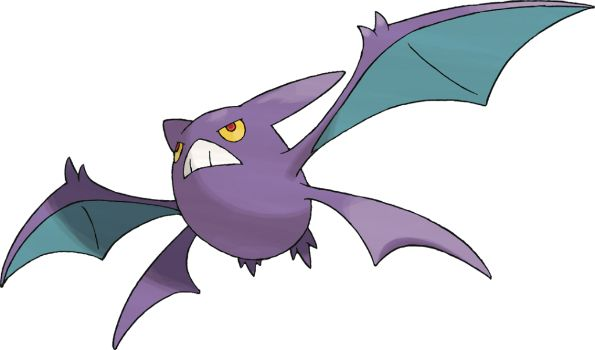 Crobat (one of my favourite Pokemon designs)
