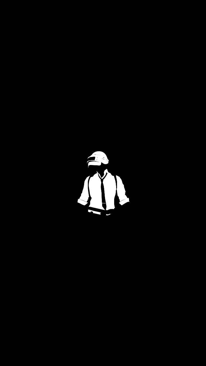 PUBG Black N White | Only wall||| | Black n white wallpaper, Black