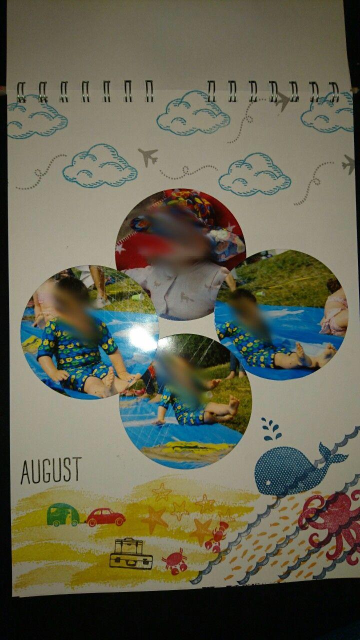 Kalender, August, Stampin Up