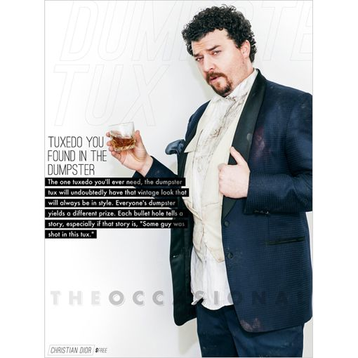 Danny Mcbride This Is The End Tux