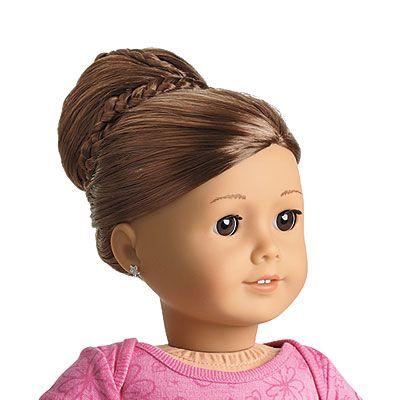 Chic Bun Hair add ons for American Girl dolls