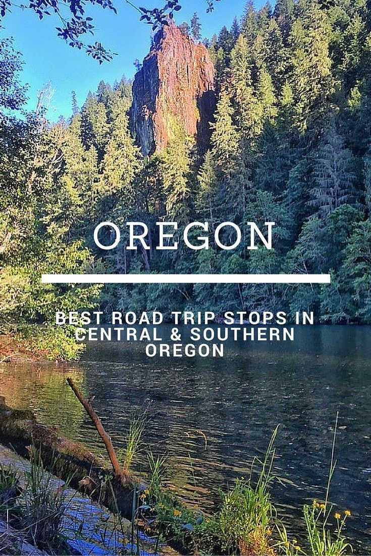 Interactive Map Usa Road Trip%0A Central and Southern Oregon Road Trip Itinerary  Oregon TourismOregon  MapAmerican