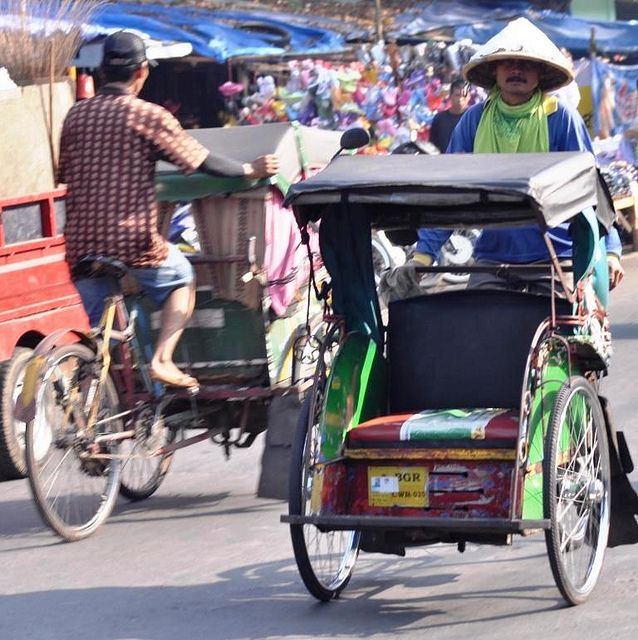 becak in bogor - Google Search