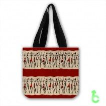 #African #dancers #abstract #Tote #Bags #bags #adds #more #perfect #and #beautiful #appearanc #red