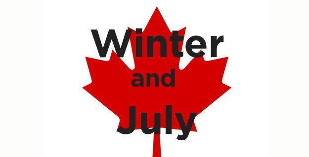 What are the two seasons in Canada? | 18 Jokes Only Canadians Will Appreciate ...sad thing is that this is almost accurate.