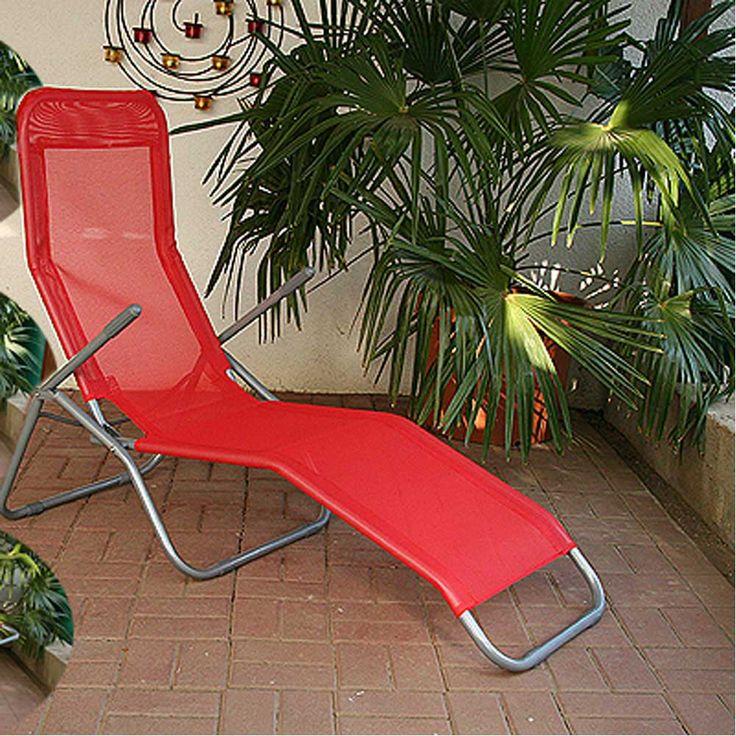 Sonnenliege in Rot klappbar Jetzt bestellen unter: https://moebel.ladendirekt.de/garten/gartenmoebel/gartenliegen/?uid=f27ddc11-c6ac-5c13-afee-ac7dab5fd2d4&utm_source=pinterest&utm_medium=pin&utm_campaign=boards #balkonliege #gartenliegen #gartenliege #relax #klappliege #garten #liegen #sonnenliege #gartenmoebel #gartenmöbel