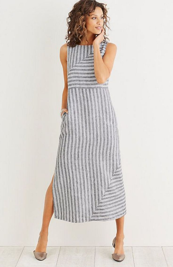Linen Dresses Are Perfect Clothes for Summer : 35 Best Summer Dress Ideas https://montenr.com/linen-dresses-are-perfect-clothes-for-summer/