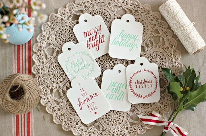 Bespoke Press: Introducing our 2013 Christmas luggage tag designs!