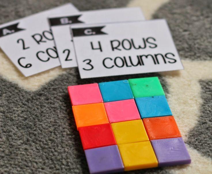 Array unit to build multiplication skills!