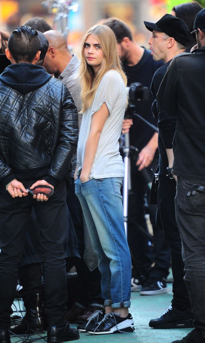 Cara Delevingne!!! Love this menswear style!   @andwhatelse