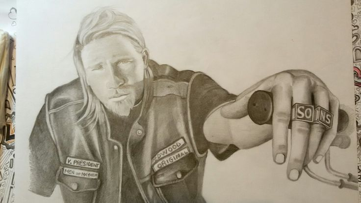 SONS OF ANARCHY jax teller
