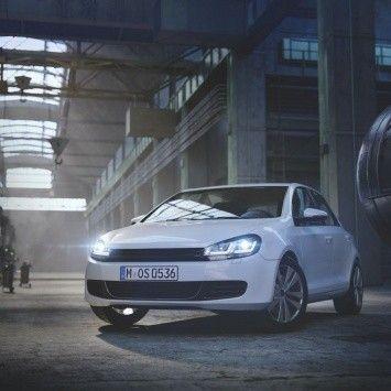 Osram has developed new xenon headlights for Volkswagen Golf 6