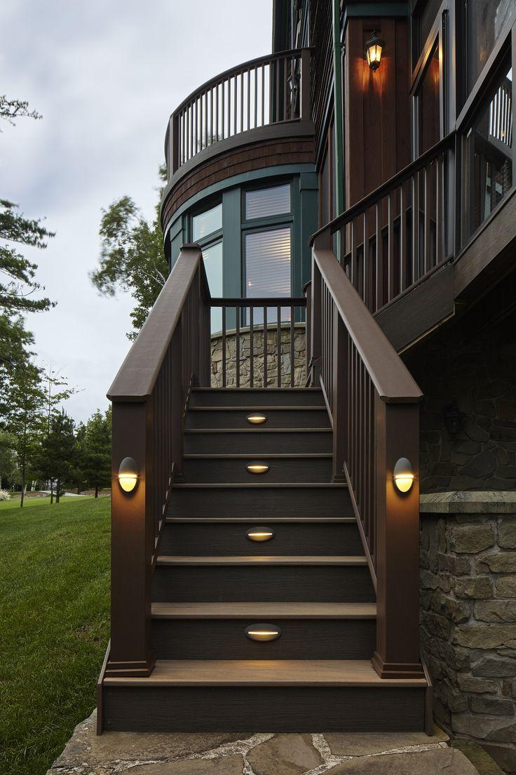 Outdoor Lighting Deck