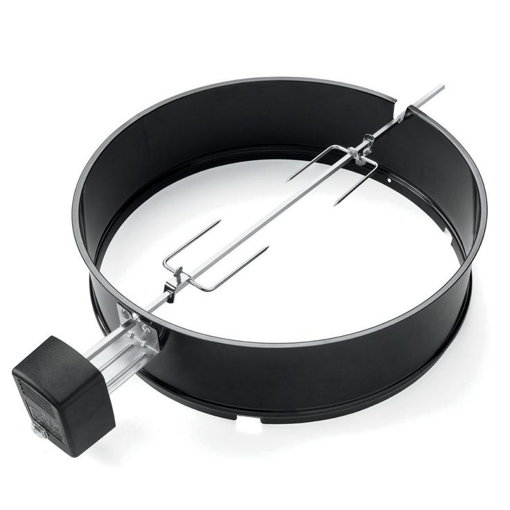 Genuine Weber rotisserie for all 57cm charcoal kettle barbecues.