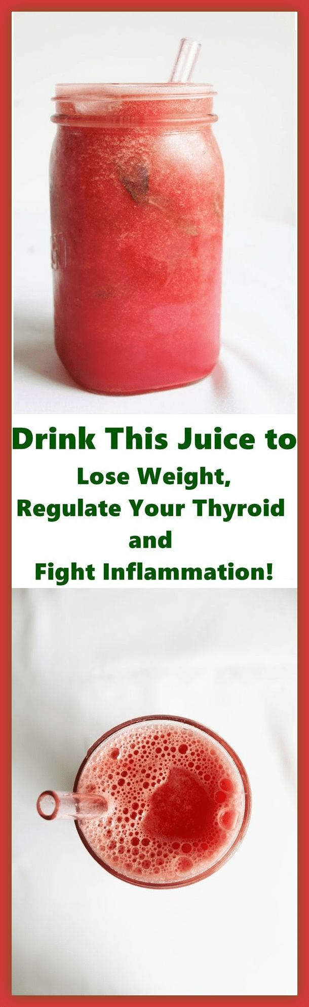 Drink This Juice to Lose Weight, Regulate Your Thyroid and Fight Inflammation! | Health Advice 365