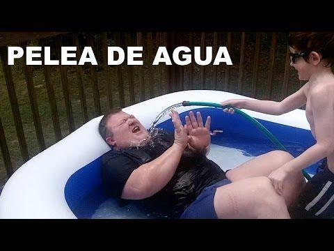 PELEA DE AGUA CON BRANDON