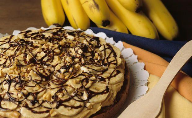 Mhhhh... Nutella-Kuchen mit Bananen nach Trennkost-Regeln gebacken!