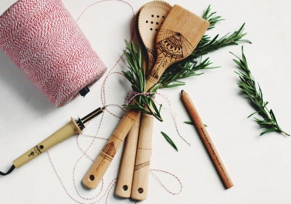 Weekend DIY Project: Wood-Burned Serving Spoons – Free People Blog   Free People Blog #freepeople