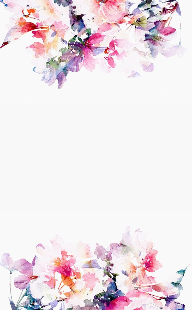 flower watercolor wallpaper pinterest iphone