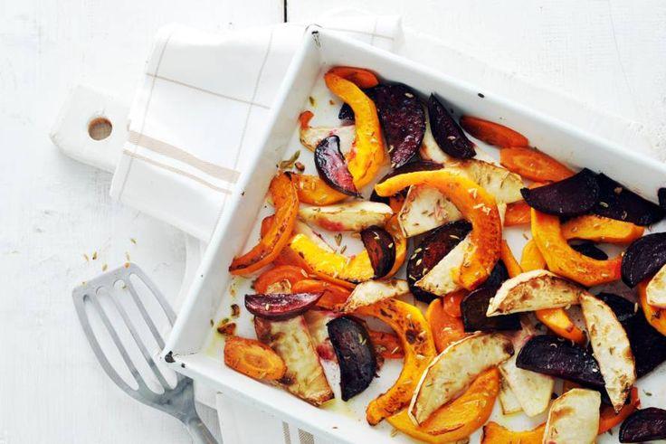 De oven doet het werk voor je bij dit superlanke groentegerecht! - Recept - Allerhande