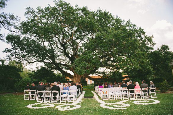 The New Orleans Botanical Gardens Wedding Prep And Vintage Weddings