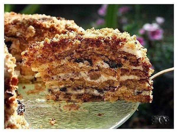 """Торт """"Белочка"""" - Грузинская кухня"""