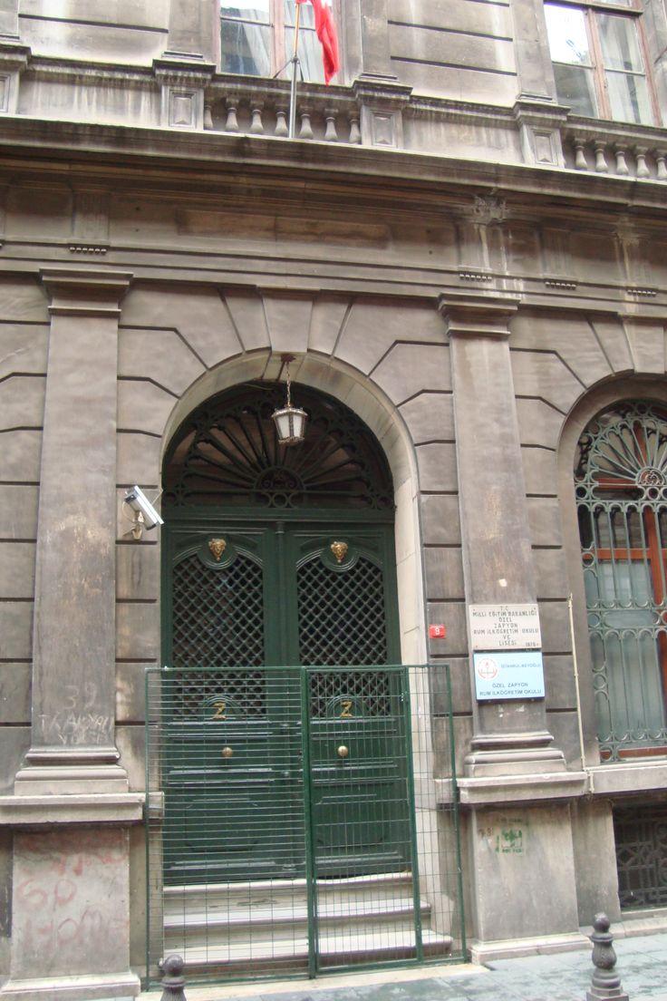 Elementary Greek schole near to Istiklal Cadessi
