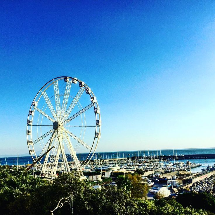 Ferris Wheel in Salerno, Italy