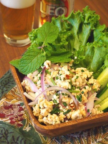 ラープガイ~鶏ひき肉のサラダ~ by えみ | レシピサイト「Nadia ...