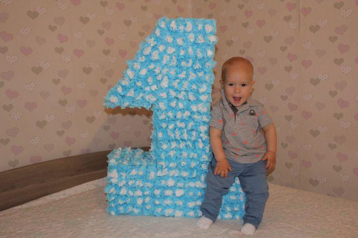 Цифра на день рождение своими руками - Новый год, дни рождения - праздники и подарки - Babyblog.ru