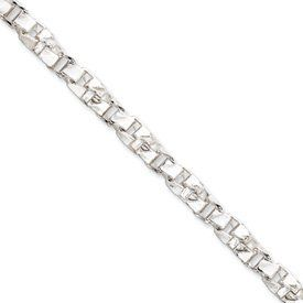 Sterling Silver 6.1mm Twisted Box Chain Bracelet - 8 Inch - Lobster Claw - JewelryWeb JewelryWeb. $96.10. Save 50% Off!