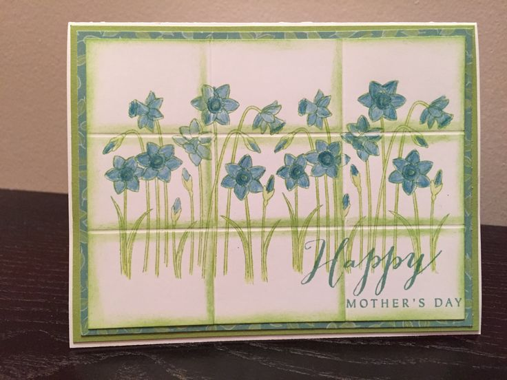 Faux Tile Technique. I share how-to's on all my cards if you are a customer. The Little Note Stamp from Close To My Heart is perfect for this time of year. kimwolff.ctmh.com