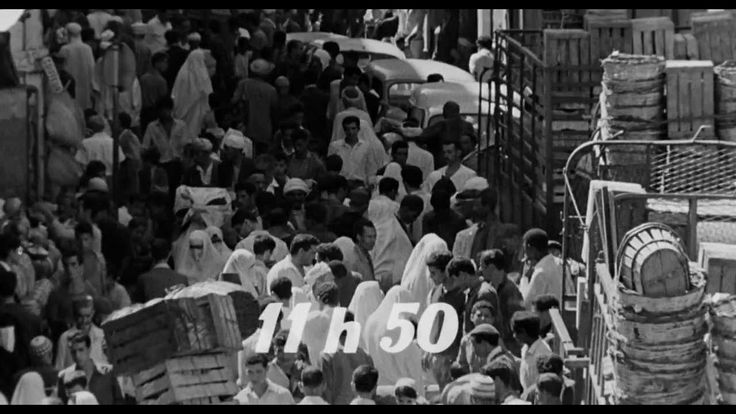 The Battle of Algiers (1966) Directed by Gillo Pontecorvo (Italian) French / Arabic - 120 minutes  One of the all time great films. Documentary style, the film focuses on the early years of the Algerian War of Independence.