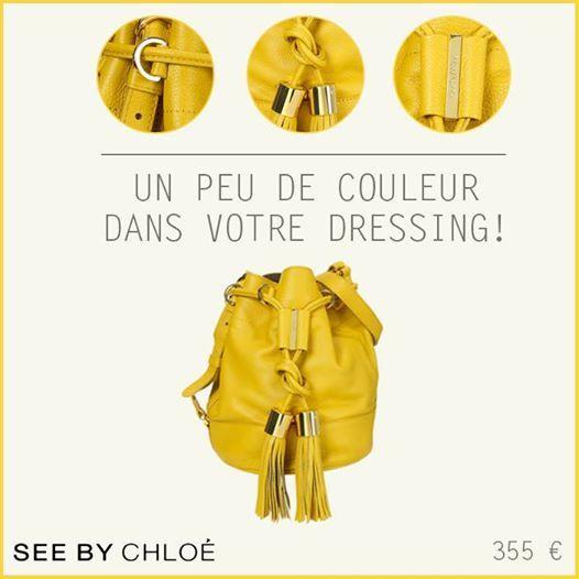 Sacs Monshowroom, craquez sur le Sac bourse en cuir 7715 Bamboo See by Chloé prix promo Monshowroom 355,00 € TTC